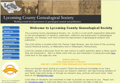 Lycoming County Genealogical Society